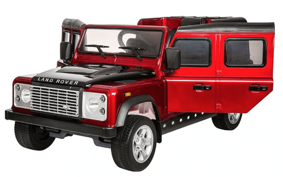 Licensed Land Rover Defender 12v Battery with Remote Control