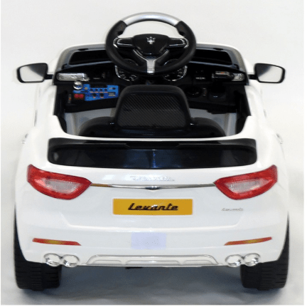 Image of Licensed Maserati Levante 6v Battery with Remote Control