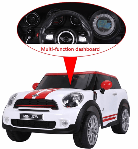 Image of Licensed Mini Cooper Paceman 12v Battery with Remote Control