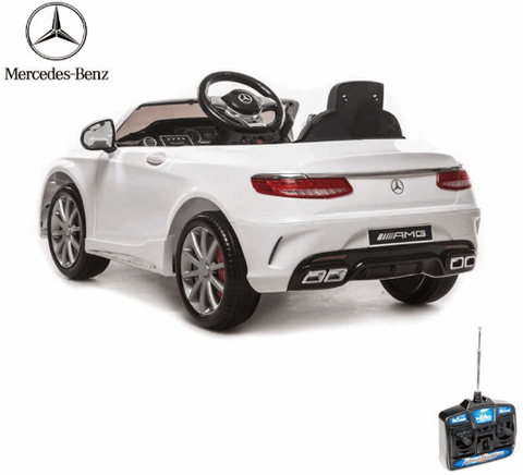 Image of Licensed Mercedes S63 AMG 12v Battery with Remote Control
