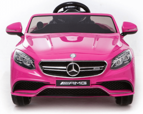 Licensed Mercedes S63 AMG 12v Battery with Remote Control