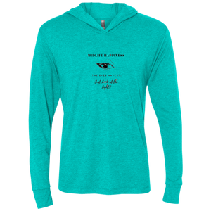Midlife - The Eyes Have It - NL6021 Next Level Unisex Triblend LS Hooded T-Shirt