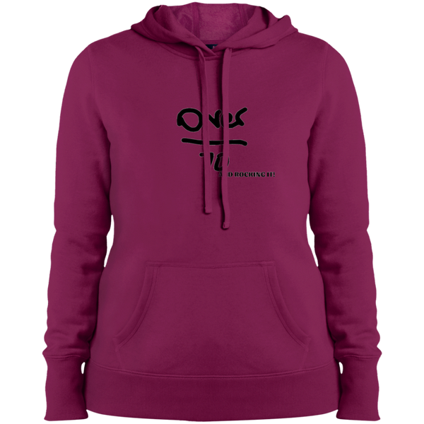 LST254 Sport-Tek Ladies' Over 70 Pullover Hooded Sweatshirt