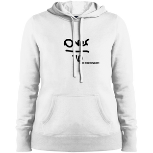 Over 70 and Rocking It - LST254 Sport-Tek Ladies' Pullover Hooded Sweatshirt