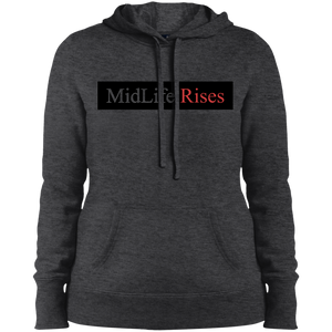Midlife Rises - LST254 Sport-Tek Ladies' Pullover Hooded Sweatshirt