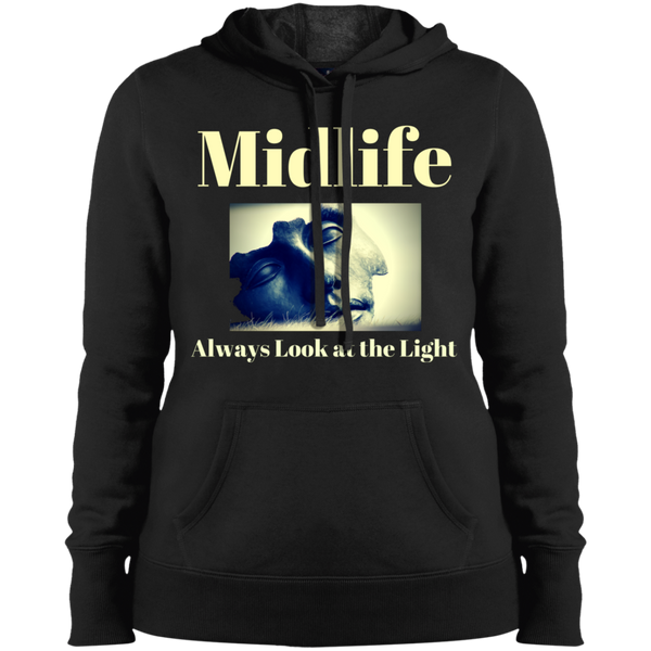 LST254 Sport-Tek Ladies' 'Look at the Light' Pullover Hooded Sweatshirt