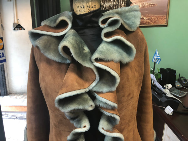 Waterfall Shearling - Discounted Coat for the Elegant Woman Over 40