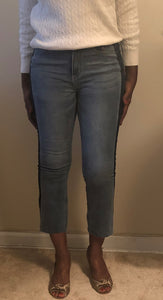 Two-Color Jeans Wear
