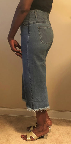 High-Waist Body Shape Jeans Wear