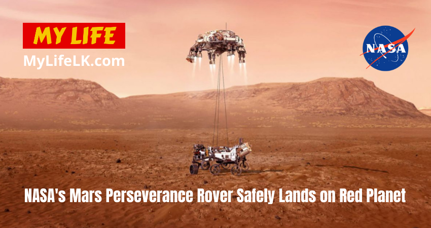 NASA's Mars Perseverance Rover Safely Lands