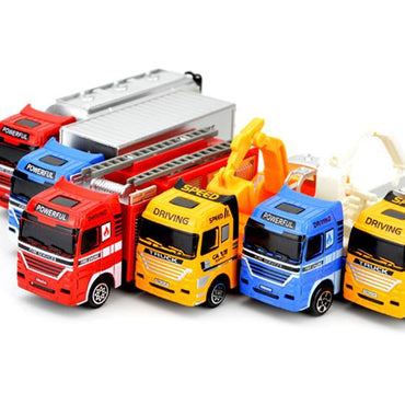 (Global Shop) Ladder Fire Truck Child Vehicle Simulation Toy