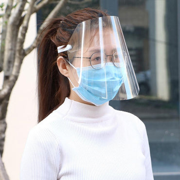 (Global Shop) Adjustable Anti Droplet Dust-proof Full Face Cover Mask