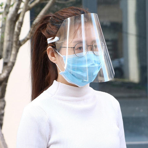 (Global Shop) Adjustable Anti Droplet Dust-proof Full Face Cover Mask - My Life