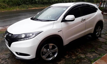 Honda Vezel White Color Car for Rent - L.M.G. Travels - mylife-sa.myshopify.com