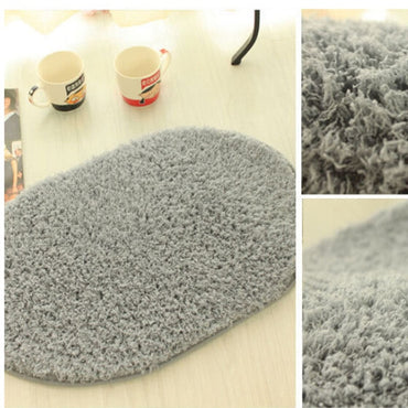 2 Size 9 colors Design Mat In The Hall 360 Rotatable Magic Slip-Resistant Pad Room Oval Carpet Floor Mats Floor Door Mat tappeti - My Life