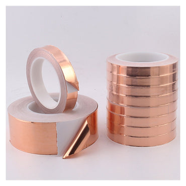 (Global Shop) Single Side Conductive Adhesive Copper Foil Tape