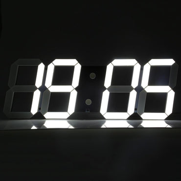 (Global Shop) Remote Control Big LED Digital Wall Clock