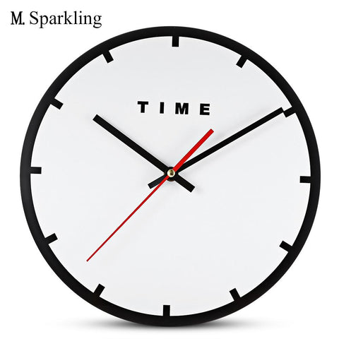 (Global Shop) M.Sparkling Creative Acrylic Minimalism Mute Wall Clock