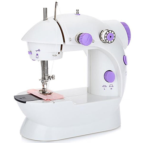 (Global Shop) 202 Mini Sewing Machine Double Speed Automatic Thread with Light - Chinabrands - mylife-sa.myshopify.com