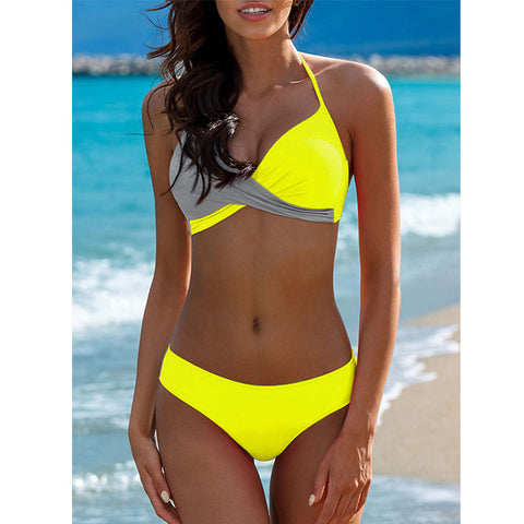 2019 Sexy Bikini Swimwear Women Swimsuit Push Up Bikinis Women Bathing Suit Biquini Brazilian Bikini Set Solid Beachwear Female - My Life