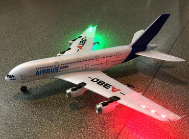 (Global Shop) New Airbus A380 Outdoor RC Airplane Toys