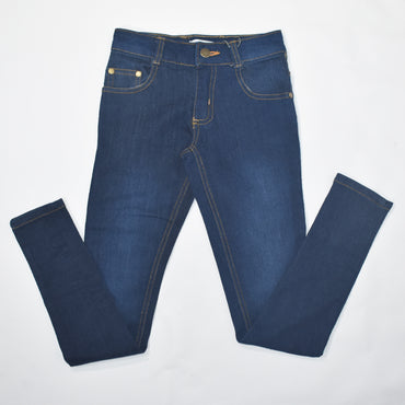 Black & Blue Kids Girls Denim Trouser - Deshanee Dress Point - mylife-sa.myshopify.com