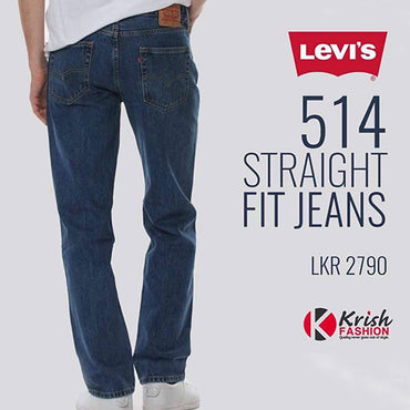 Solid Color Straight Fit Men's Denim Trouser - Krish Fashion - mylife-sa.myshopify.com
