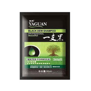 (Global Shop) 5 Minutes Fast Hair Dye Black Shampoo
