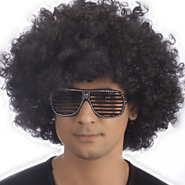 Women Men Unisex Synthetic Fancy Curly Hair Wig