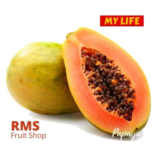 (Retail & Wholesale) Sri Lanka Best Papaya by RMS Fruit Shop - RMS Fruit Shop - mylife-sa.myshopify.com