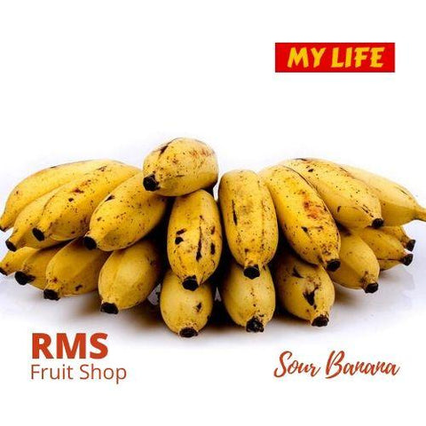 (Retail & Wholesale) Best Sour Banana by RMS Fruit Shop - RMS Fruit Shop - mylife-sa.myshopify.com