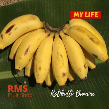 (Retail & Wholesale) Best Kolikuttu Banana by RMS Fruit Shop - RMS Fruit Shop - mylife-sa.myshopify.com