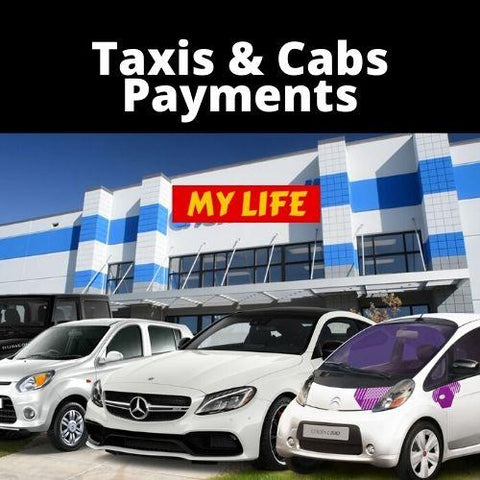 My Life Taxis & Cabs Payments - My Life