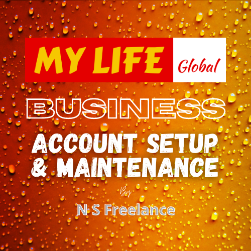 My Life Business Account Setup & Maintenance by N S Freelance