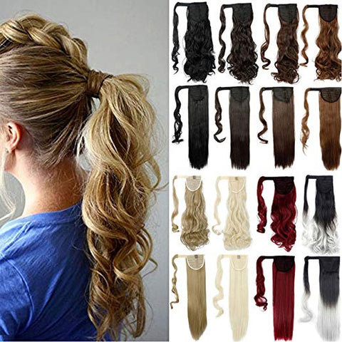 Natural/Synthetic Hair Extension Roll - Finishing Touch