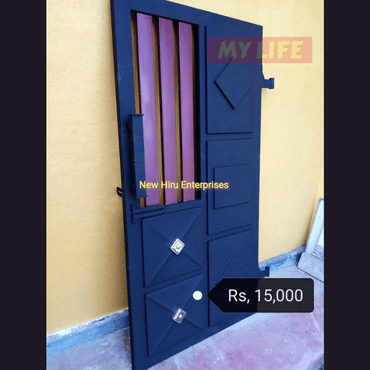Metal Painted Garden Grill Gate Door - New Hiru Enterprises - My Life