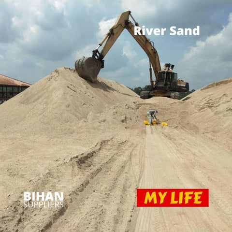 High Quality Washed Sand River Sand Waste Sand by Bihan Suppliers