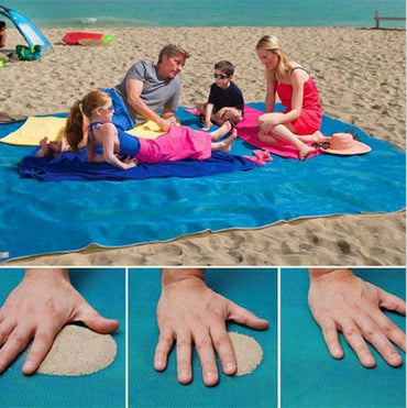 (Global Shop) Magic Sand Free Beach Mat