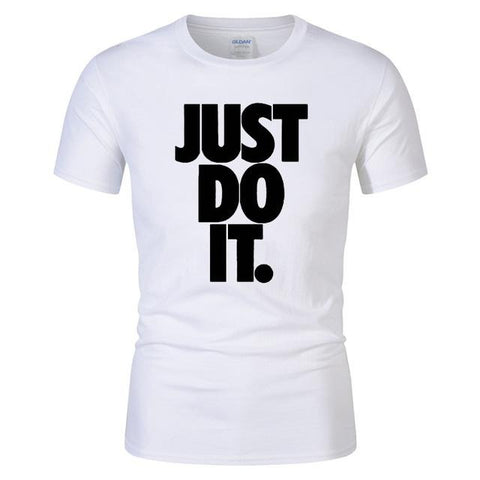 (Global Shop) Just Do It T Letter print t-shirt - Ep lo - mylife-sa.myshopify.com