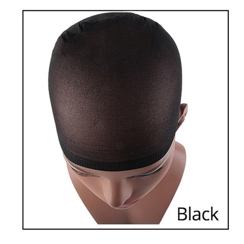(Global Shop) Stocking Deluxe Hair Nylon Stretch Mesh Wig Cap