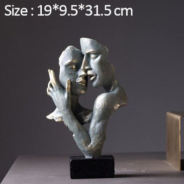 (Global Shop) Antique Figure Sculpture Decoration Statue