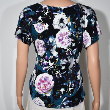 Raglan Sleeve Womens Floral Top - Deshanee Dress Point - mylife-sa.myshopify.com