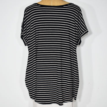 Womens Stripes Cocoon Top - Deshanee Dress Point - mylife-sa.myshopify.com