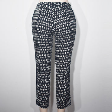 Black & White Printed Women Jogger Pant