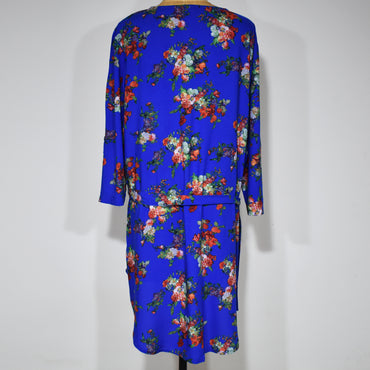 Printed Womens Safari Long Sleeve Viscose Shirt Dress - Deshanee Dress Point - mylife-sa.myshopify.com