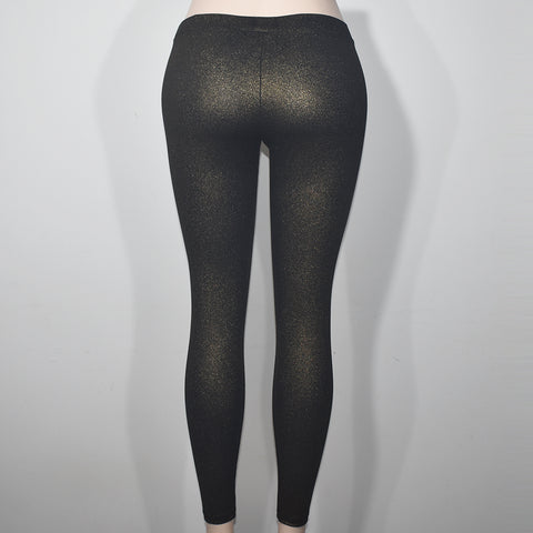 (Wholesale Only) Gold Shine Women Skinny Leggings - Deshanee Dress Point - mylife-sa.myshopify.com