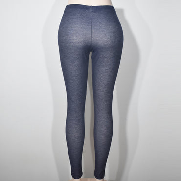 Dark Gray Comfortable Women Denim Leggings - Deshanee Dress Point - mylife-sa.myshopify.com