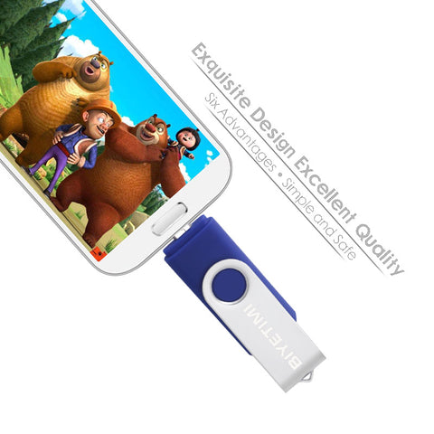 (Global Shop) Multifunctional USB Flash Pen Drive for phone