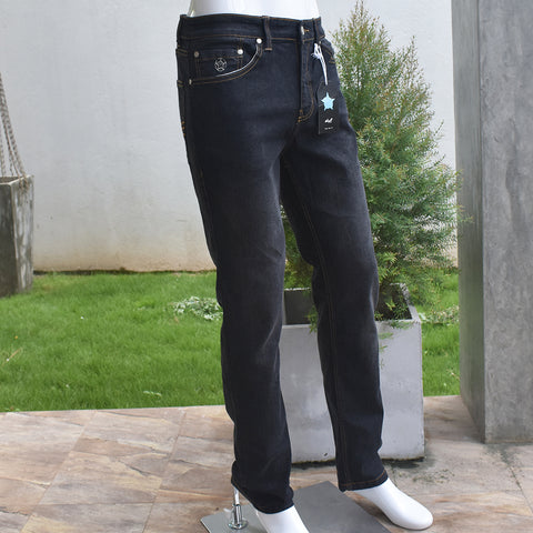 Black & Blue Color Mens Denim Trouser - Deshanee Dress Point - mylife-sa.myshopify.com