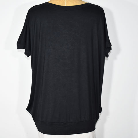 (Wholesale Only) Womens V-Neck Batwing Top